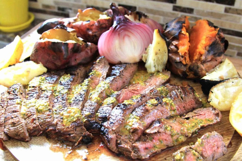 Paleo Grilled Flank Steak