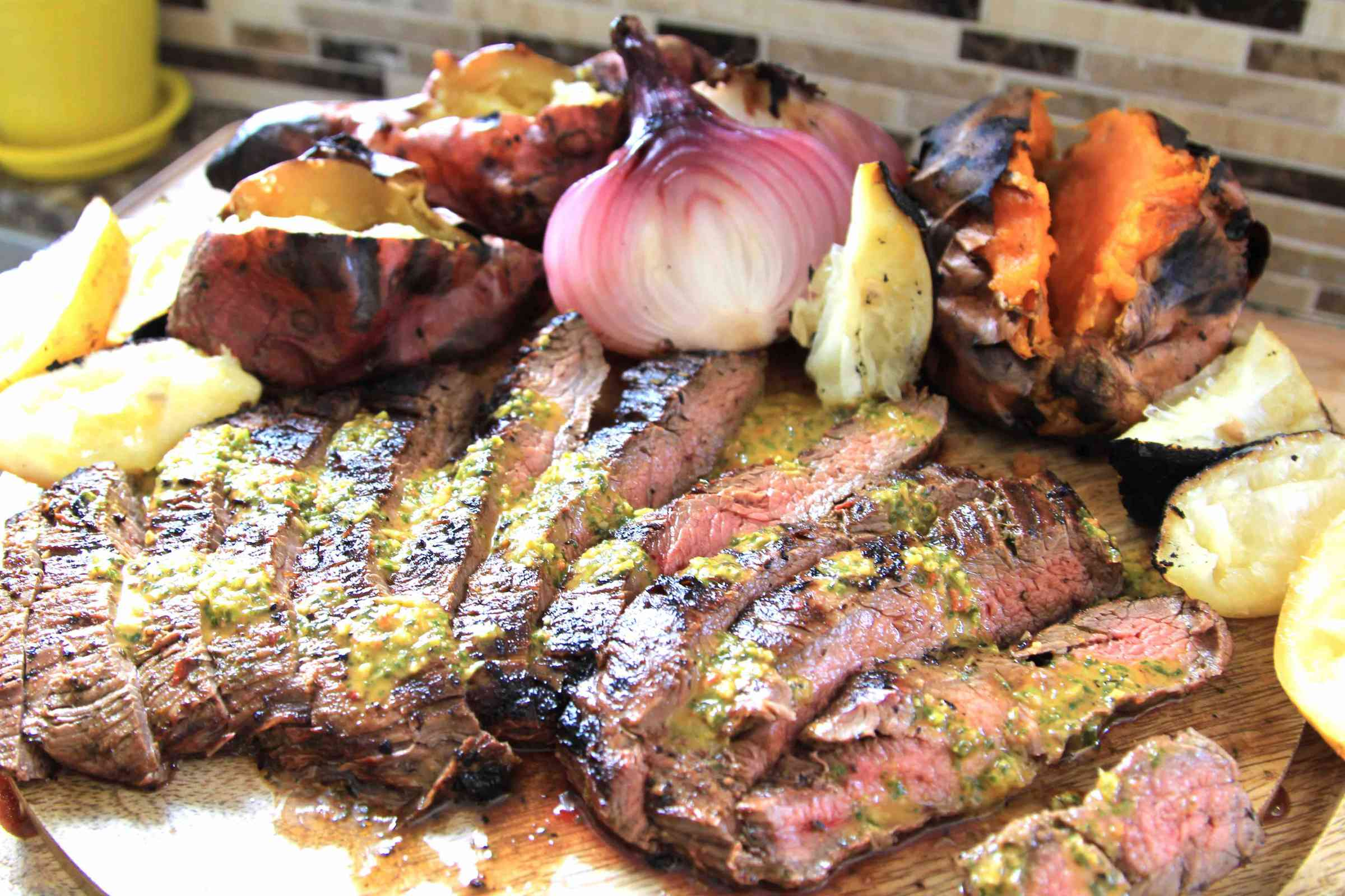 Argentinian Chimichurri Flank Steak