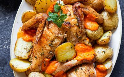 Whole30 Grilled Chicken Romesco – Paleo