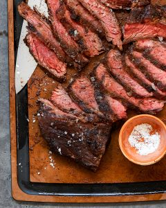 Coffee Rubbed Skirt Steak Grilled Paleo Primal Gourmet Whole30 BBQ Summer Recipe