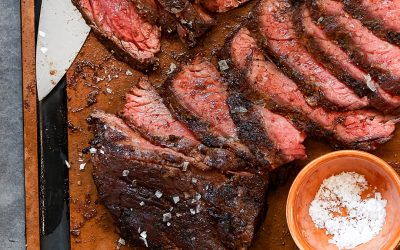 Coffee Rub Grilled Steak – Paleo