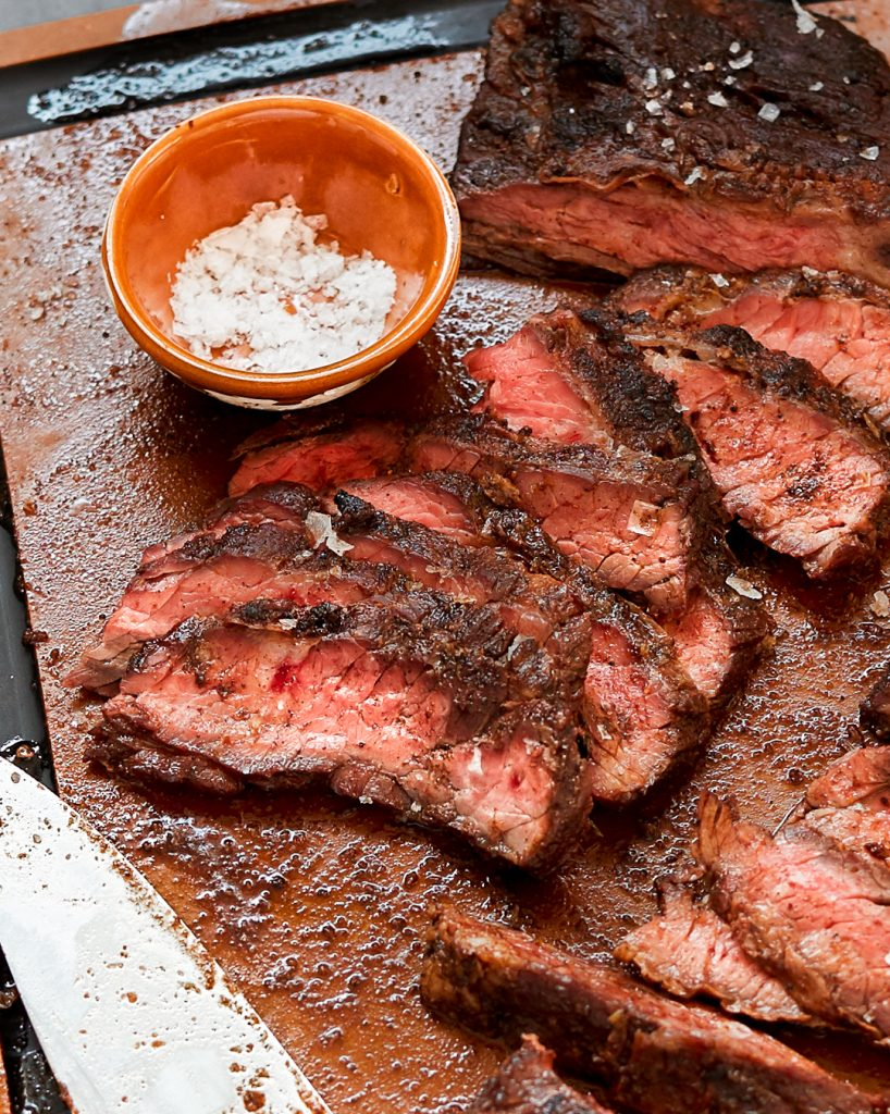 Coffee Rub Skirt Steak Grilled Paleo Primal Gourmet Whole30 BBQ Summer Recipe