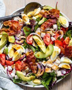 Chicken Cobb Salad Paleo Primal Gourmet Easy Dinner Idea