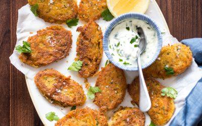 Cod Fritters with Garlic Aioli