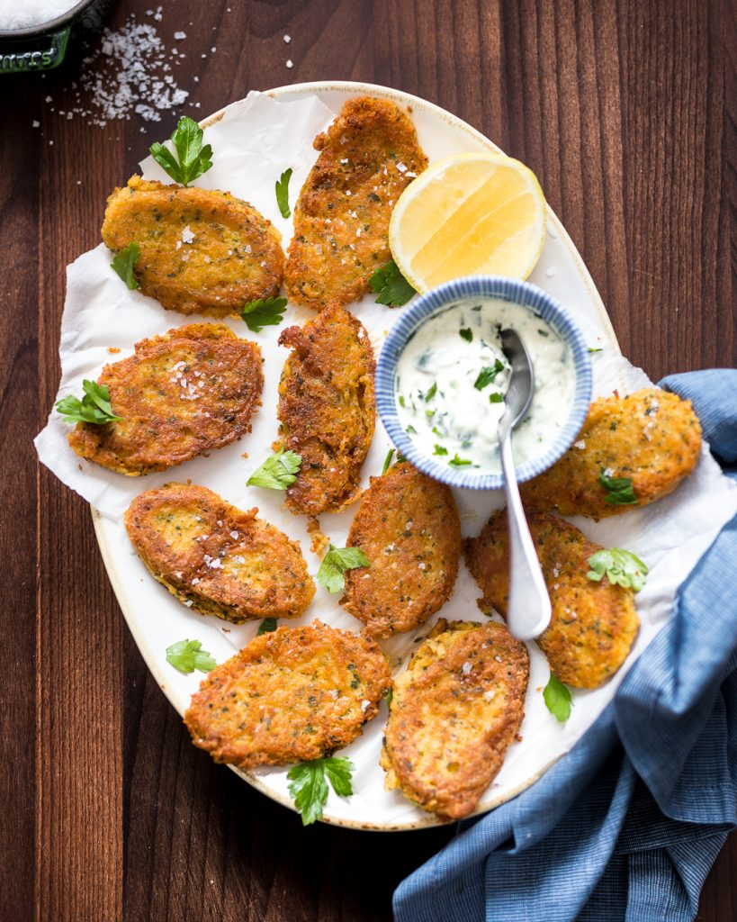 Cod Fritters with Garilic Aioli Whole 30 Primal Gourmet Easy Recipe