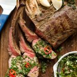 Reverse-Seared Rack of Lamb with Mint Salsa Verde Paleo Whole30 Primal Gourmet Easy