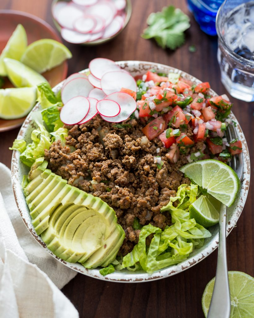 Whole30 Taco Salad Paleo Primal Gourmet Easy Recipe