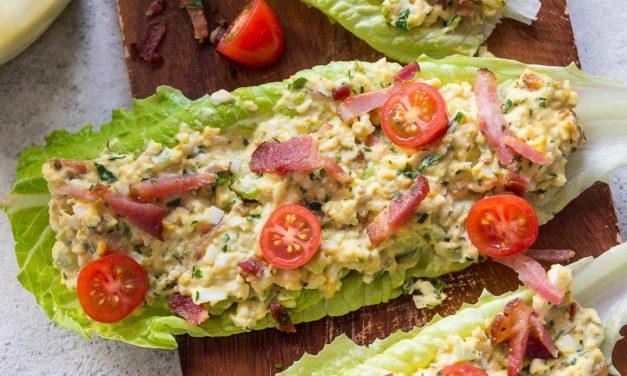 BLT Egg Salad Sammies – Whole30, Paleo