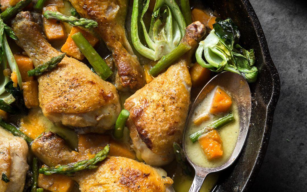 Braised Thai Curry Chicken – Paleo