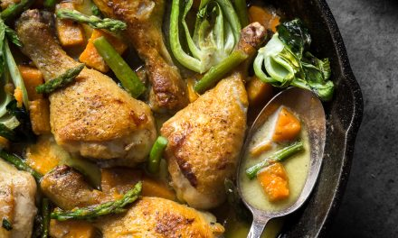 Braised Thai Curry Chicken – Paleo