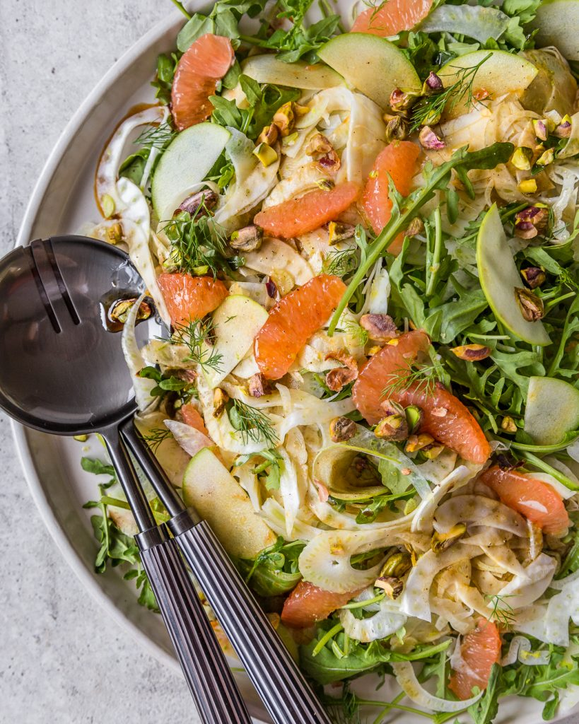 Fennel Arugula Grapefruit Salad Whole30 Paleo Primal Gourmet Easy Mother's Day Recipe