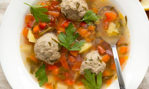 Whole30 Romanian Meatball Soup – Ciorba de Perisoare