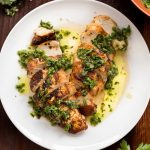 Whole30 Pan-Roasted Chicken Breast with Salsa Verde Primal Gourmet Paleo Healthy Recipe
