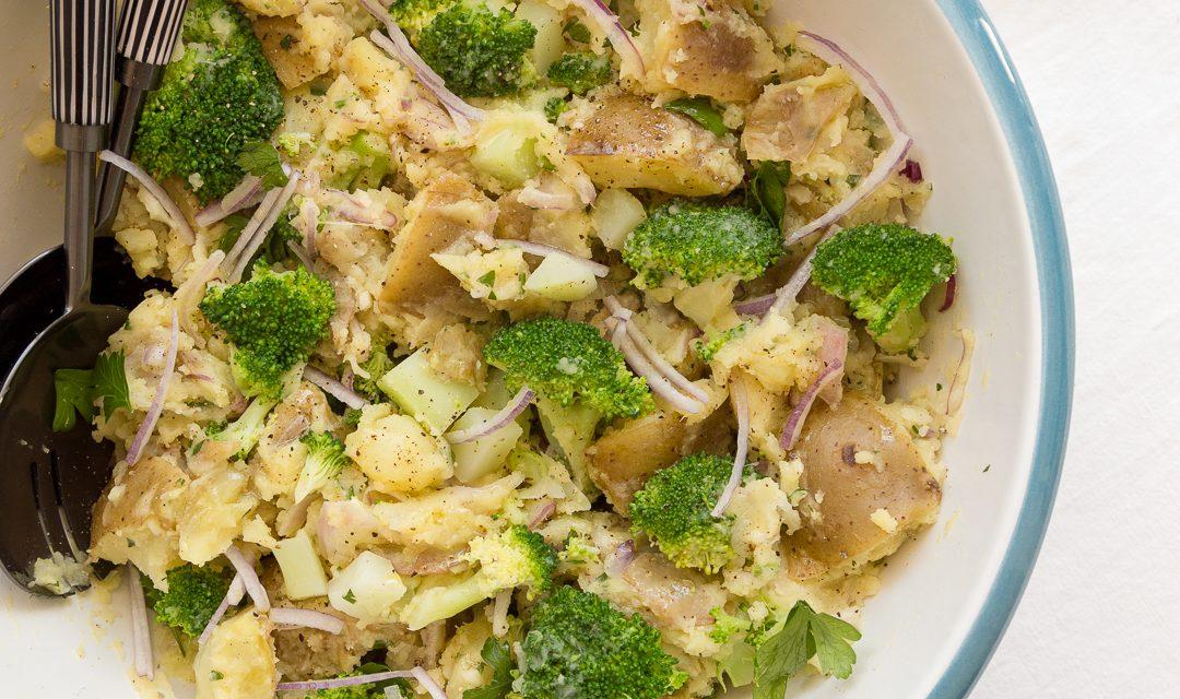 German Potato Salad with Broccoli – Whole30