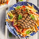 Grilled Thai Beef Green Mango Salad Whole30 Paleo Primal Gourmet Easy Recipe
