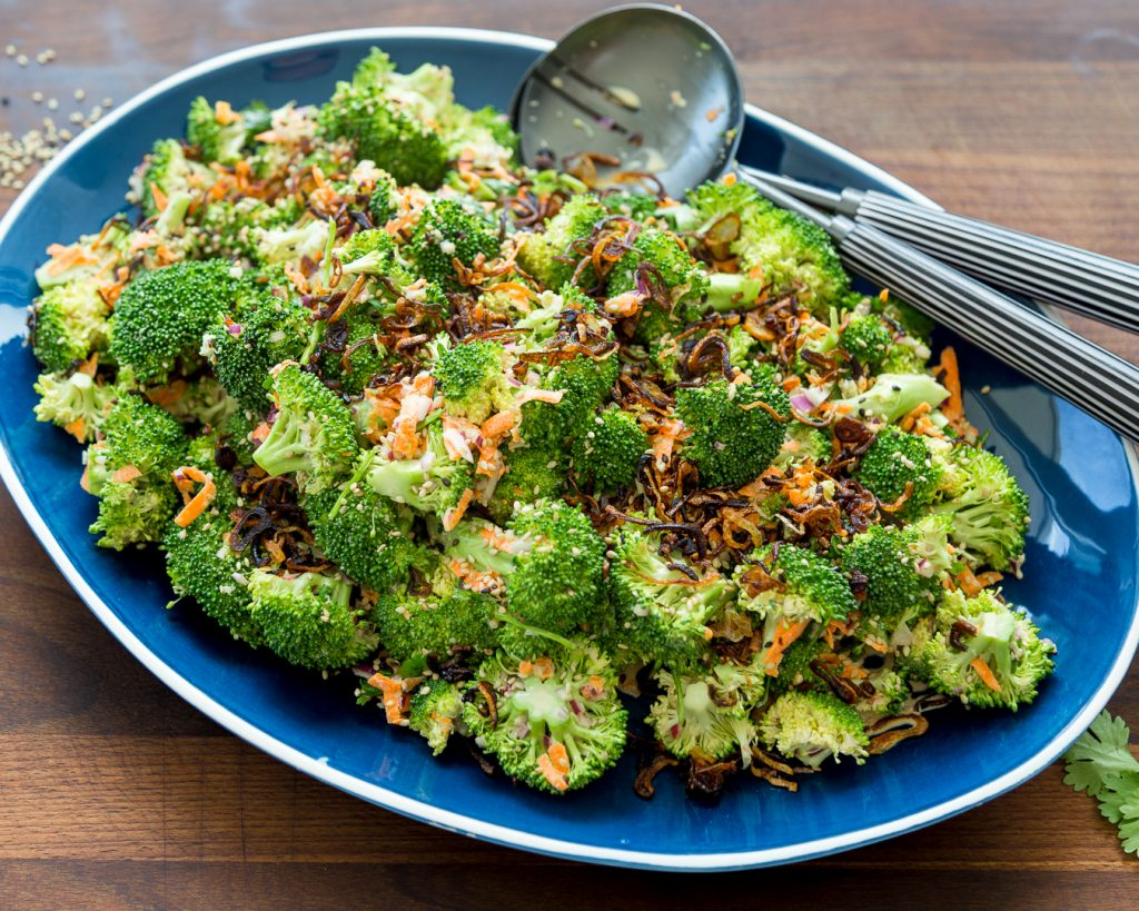 Whole30 Asian Broccoli Salad Paleo Primal Gourmet Easy Summer Recipe