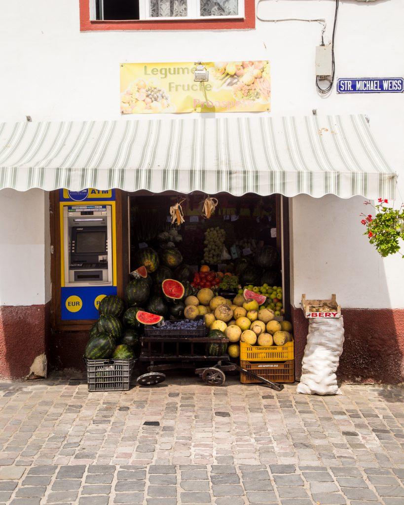 Fruit Stall, Brasov, Romania