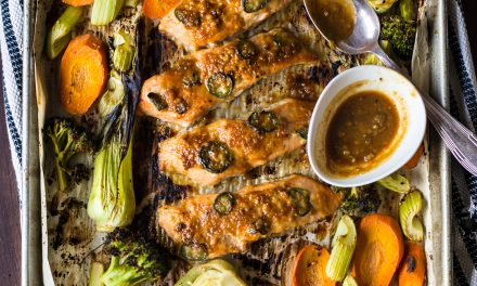 Sheet Pan Asian Salmon with Vegetables