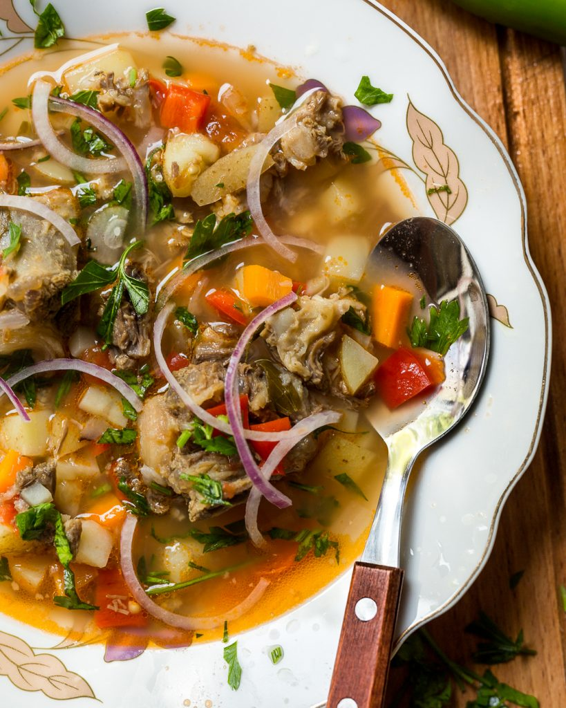 Ciorba de Vacuta Romanian Beef Soup Paleo Whole30 Primal Gourmet