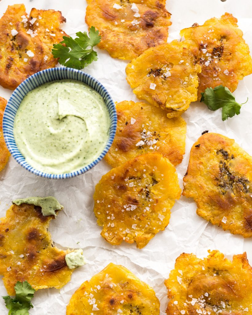 Tostones Avocado Crema Whole30 Paleo Primal Gourmet Easy