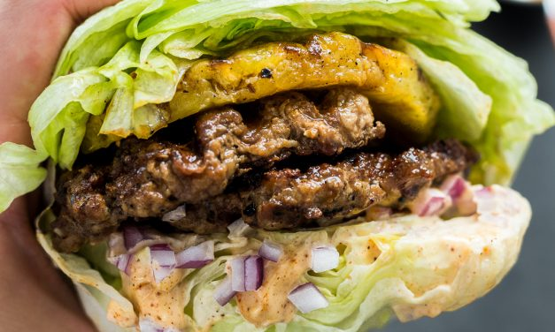 Smashed Aloha Burgers with Chipotle Aioli – Whole30, Paleo