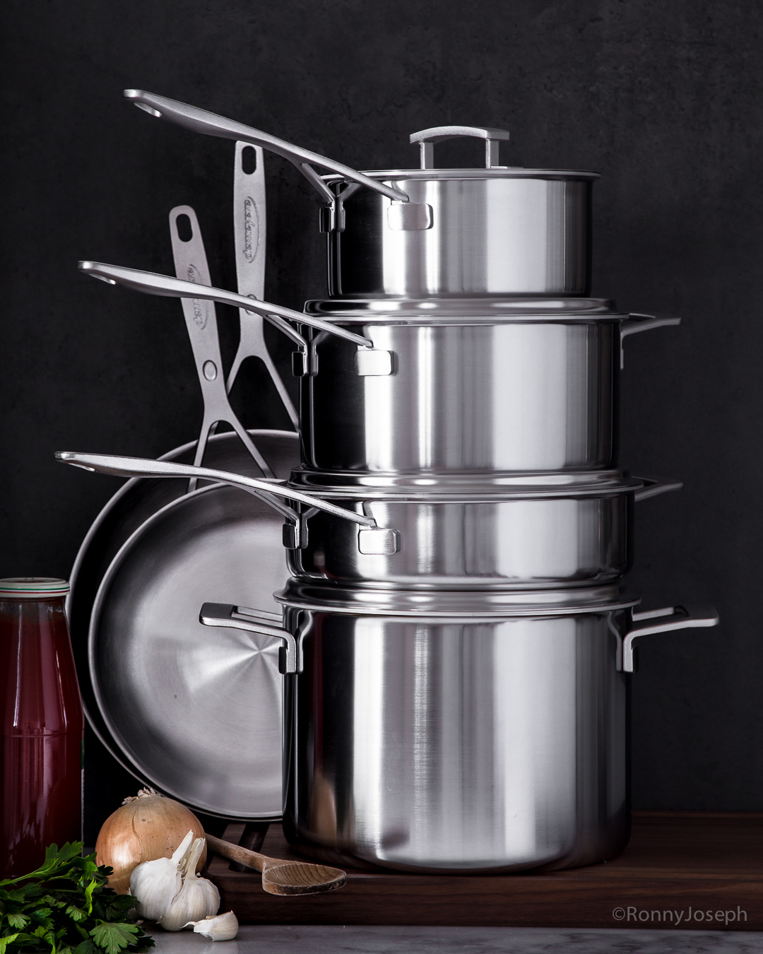 Giveaway - Demeyere Industry Stainless Steel 10-pc Set