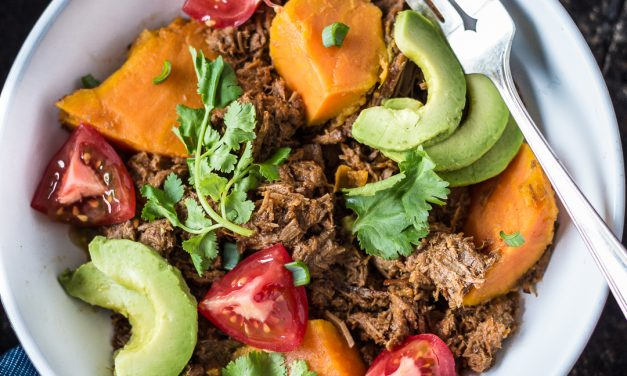 Whole30 Mexican Braised Beef with Sweet Potato