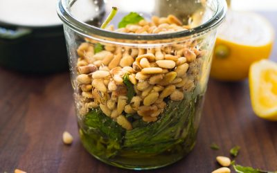 Easy Basil Pesto – Whole30, Paleo