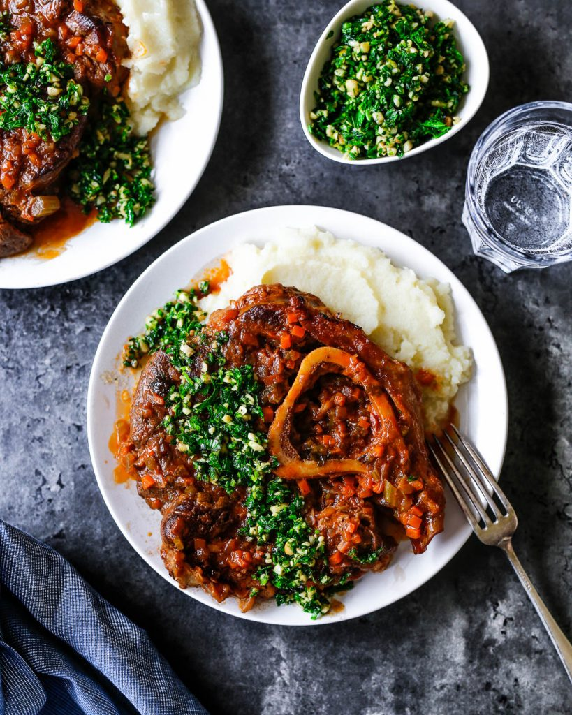Osso Bucco with Gremolata Paleo Primal Gourmet Easy Dinner Italian Recipe