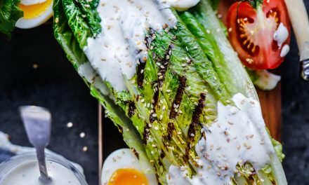 Grilled Romaine with Whole30 Ranch
