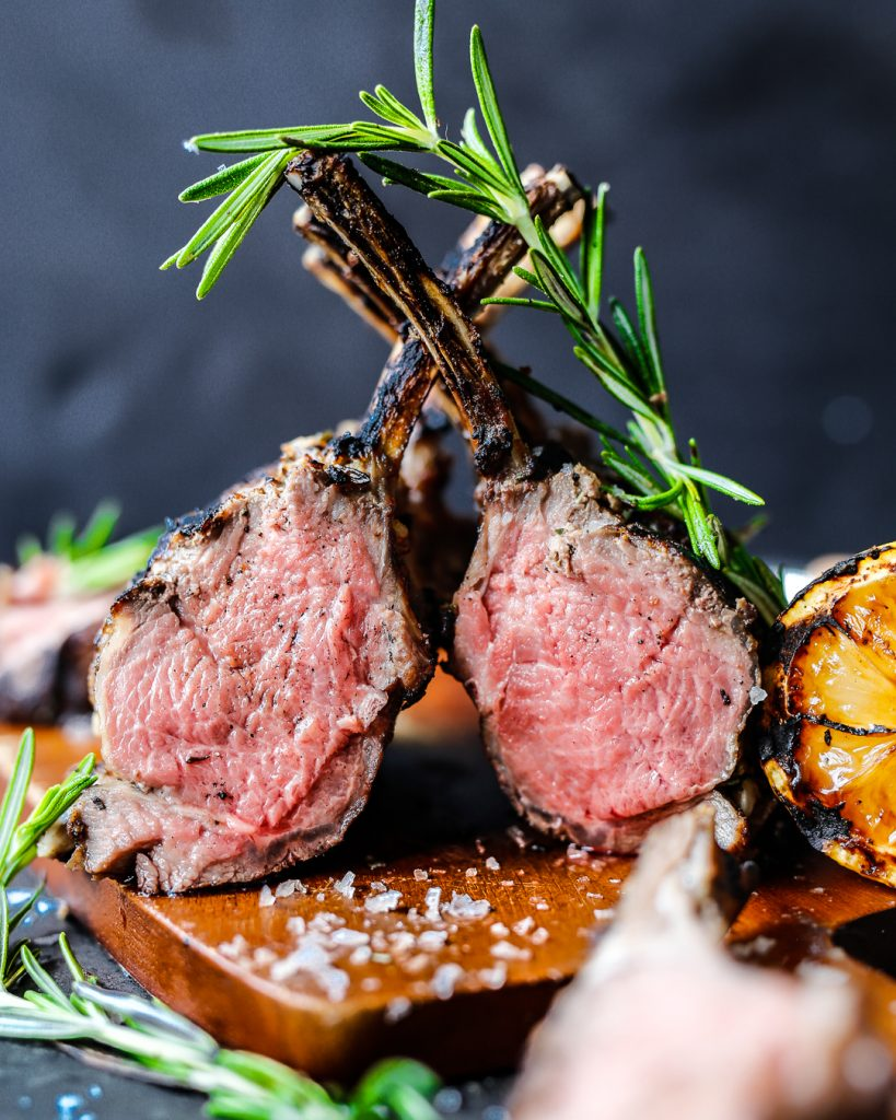 reverse-seared rack of lamb paleo whole30 primal recipe easy