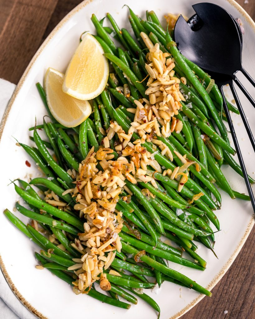Green Bean Almondine Whole30 Paleo Primal Gourmet Easy Recipe Thanksgiving Side