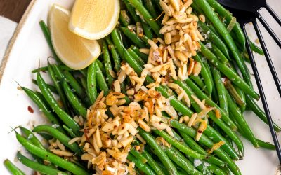 Green Bean Almondine – Whole30