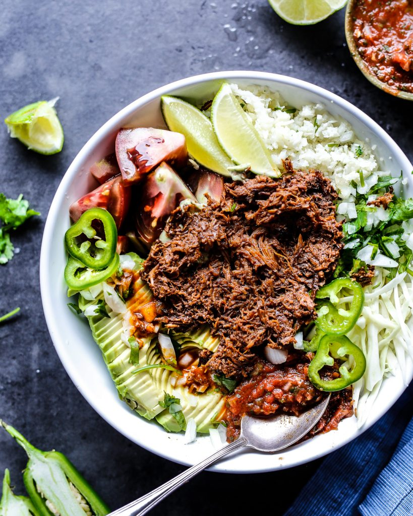 Crockpot Beef Barbacoa Recipe Slow Cooker Easy Mexican Food Paleo Primal Whole 30