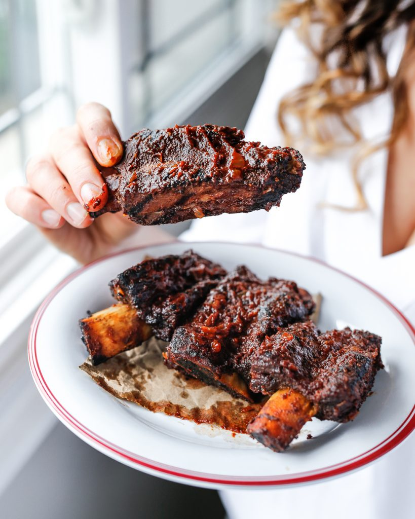 Sticky Beef Ribs with Paleo Balsamic Maple BBQ Sauce Primal Gourmet Paleo Recipe Easy