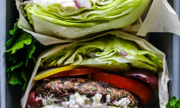 Whole30 Greek Burgers