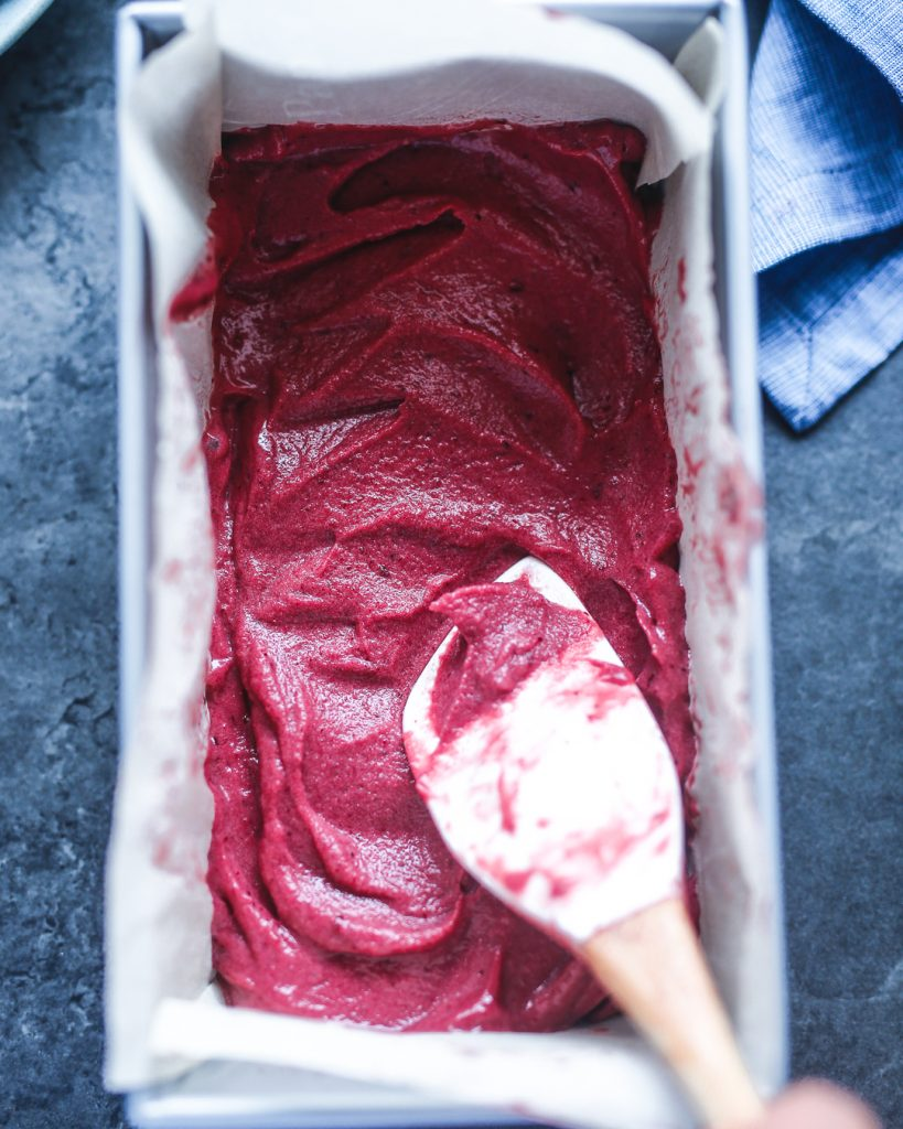 Cherry Nice Cream Paleo Primal Gourmet Vegan Vegetarian Dairy Free Ice Cream Recipe Easy Summer