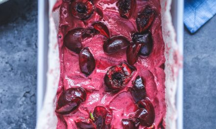Cherry Nice Cream – Vegan and Paleo