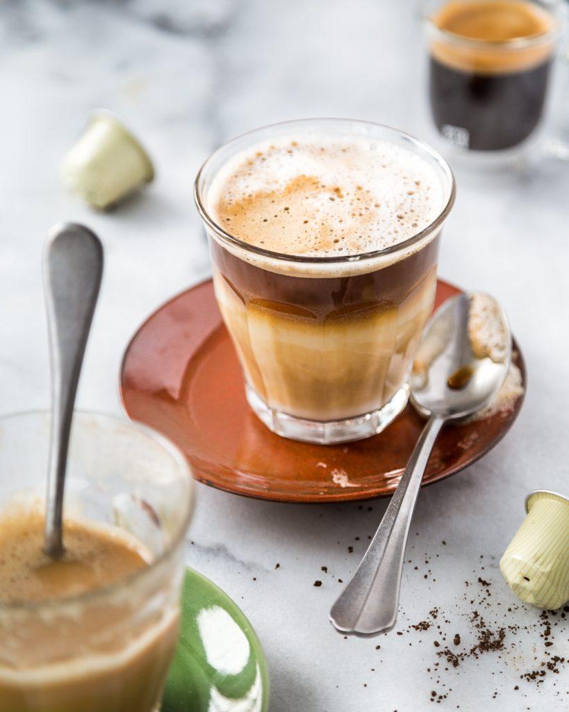 Dairy-Free Vanilla Latte Macchiato Paleo Primal Gourmet Easy Coffee Recipe