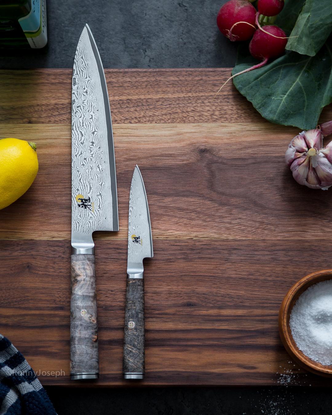 Giveaway Primal Gourmet Miyabi 5000MCD 67 Black Ash Knife Set