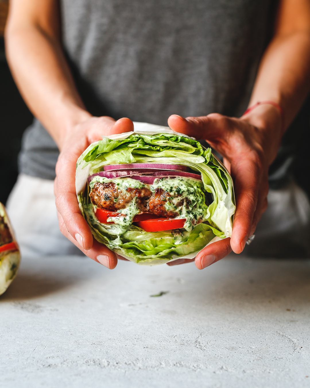 Whole30 Sun-Dried Tomato Chicken Burgers