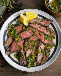 Walnut Salsa Verde Whole30 Paleo Primal Gourmet Easy Sauce