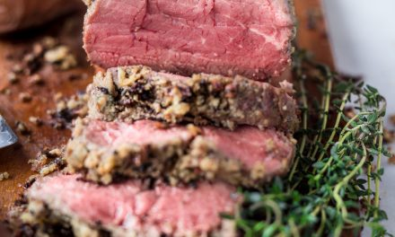 Herb & Almond Crusted Beef Tenderloin