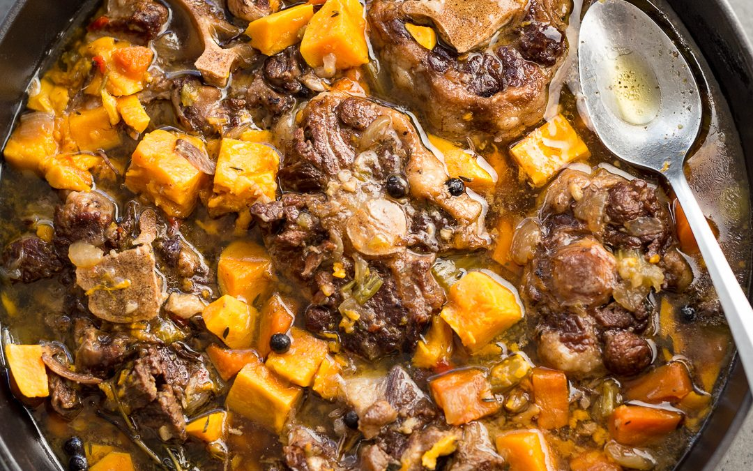 Spicy Oxtail Stew with Sweet Potato – Whole30, Paleo