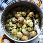 Half-Smashed Garlic Dill Potatoes Whole30 Paleo Primal Gourmet