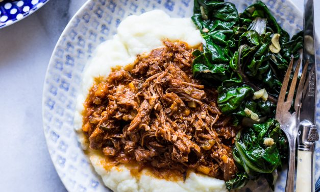 Instant Pot Lamb Ragu – Whole30, Paleo