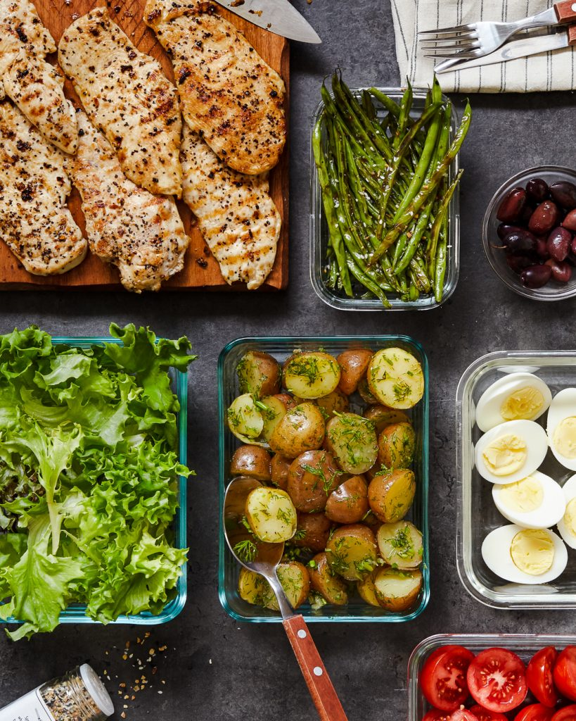 Grilled Chicken Niçoise Salad Primal Gourmet Paleo Whole30 Easy Lunch Recipe Back to School