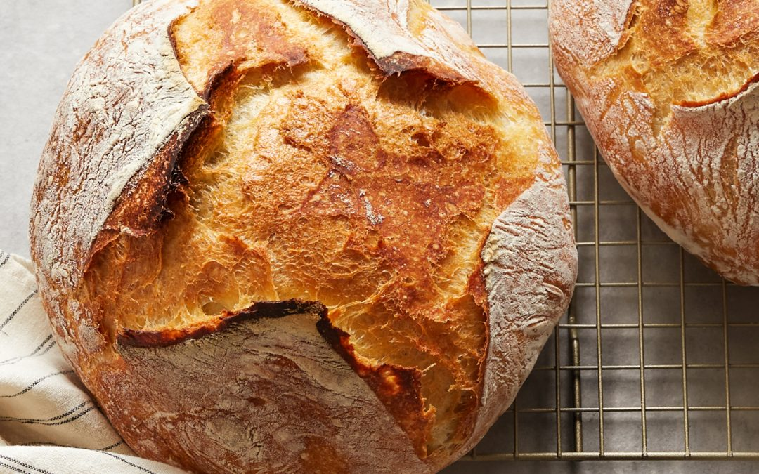 Easy No-Knead Bread – Not Whole30 or Paleo
