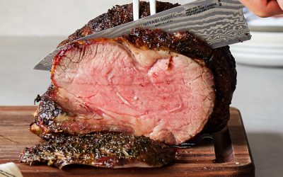 Herb Crusted Prime Rib – Reverse-Seared, Paleo