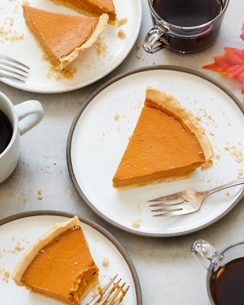 Gluten-Free Pumpkin Pie Paleo Primal Gourmet Easy Thanksgiving Dessert Recipe